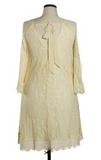 IN ANY EVENT LACE OFF-SHOULDER DRESS IN CREAM - sale [product vendor] - Life is Chic Boutique