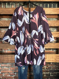 floral print tunic life is chi