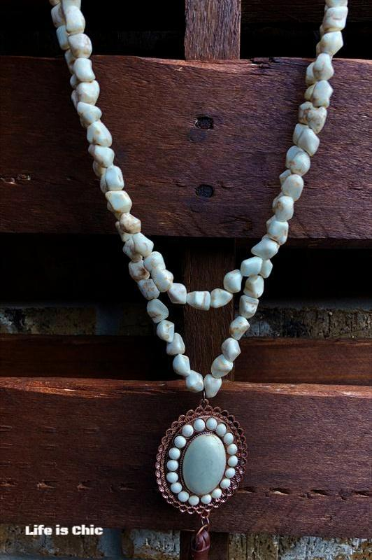 GYPSY-SOUL NECKLACE IN IVORY