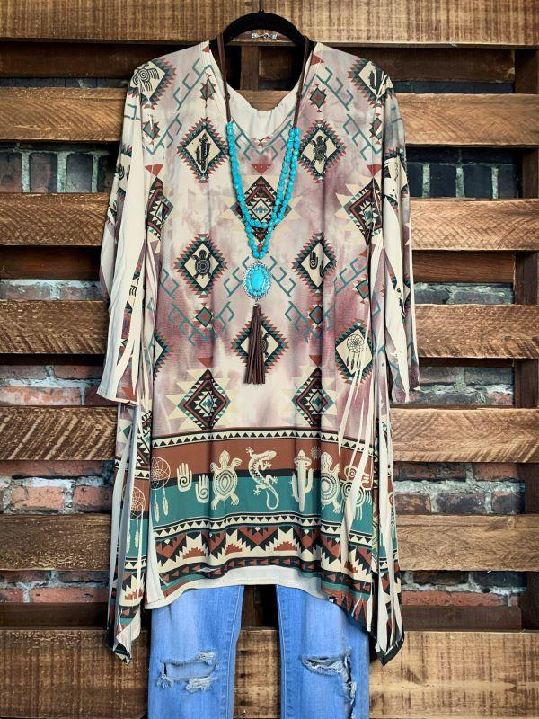 tunic beige brown life is chic