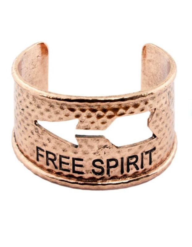 FREE SPIRIT BRACELET IN COPPER