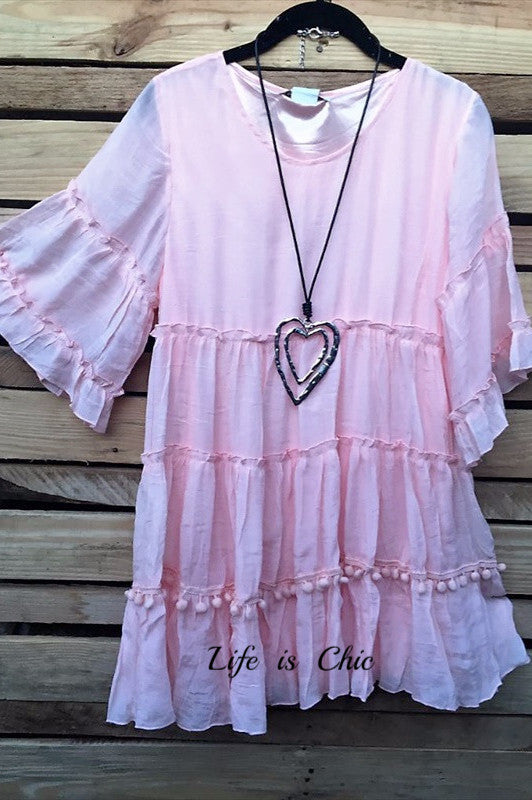 As Cute As They Come Pink  Babydoll [product vendor] - Life is Chic Boutique