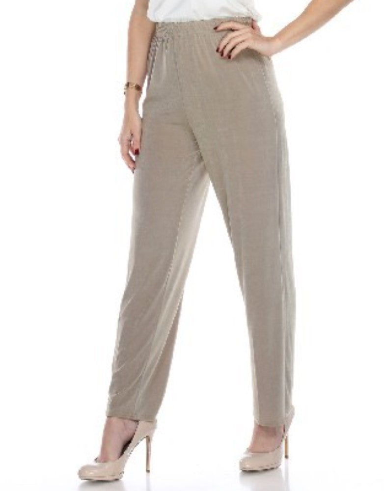 The Perfect Stretchy Straight Pants In Taupe