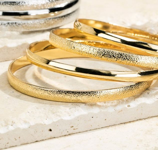The Power of Joy Set Of Four Bangle Bracelet