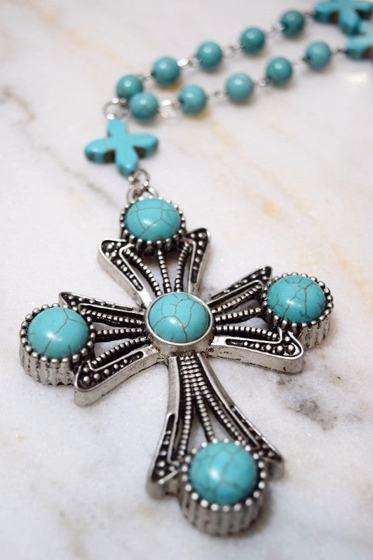 Cross To My Heart Necklace [product vendor] - Life is Chic Boutique