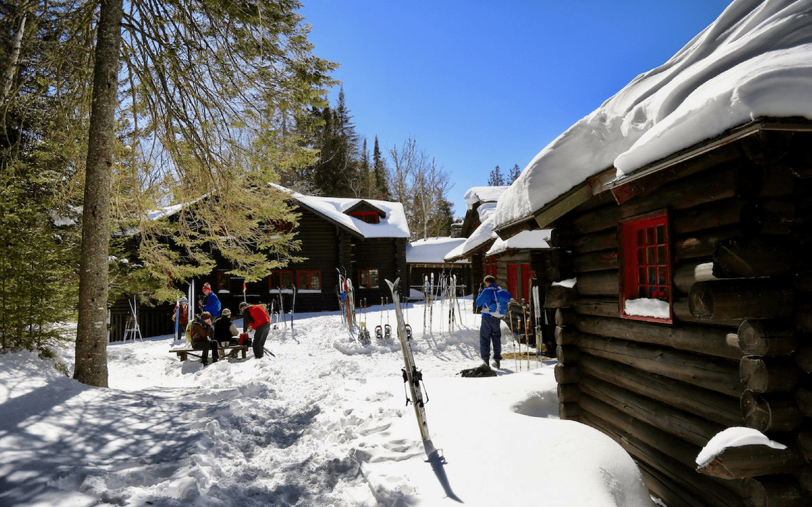 XC-Skiing to Camp Santanoni | Pure Adirondacks