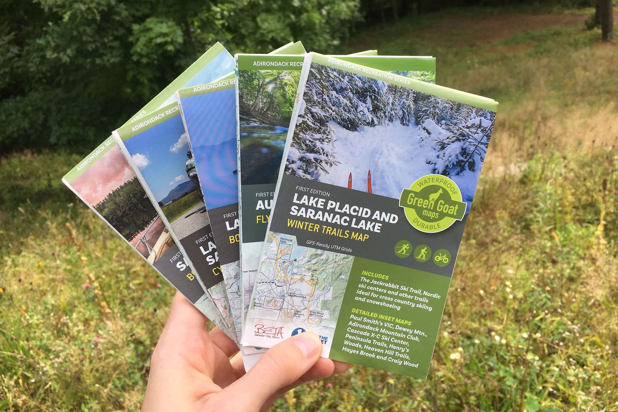Local Spotlight: Green Goat Maps | Pure Adirondacks