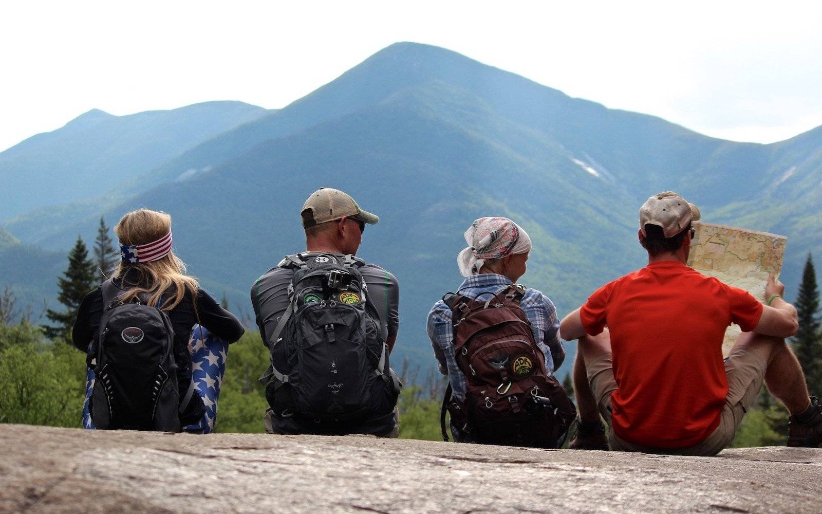 Gray Peak, Mount Skylight and Mount Marcy | Pure Adirondacks