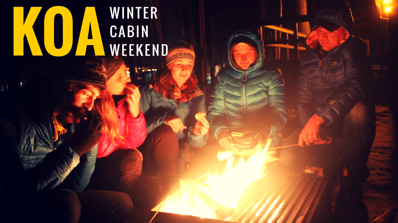 KOA Campground Winter Weekend Adventure | Pure Adirondacks
