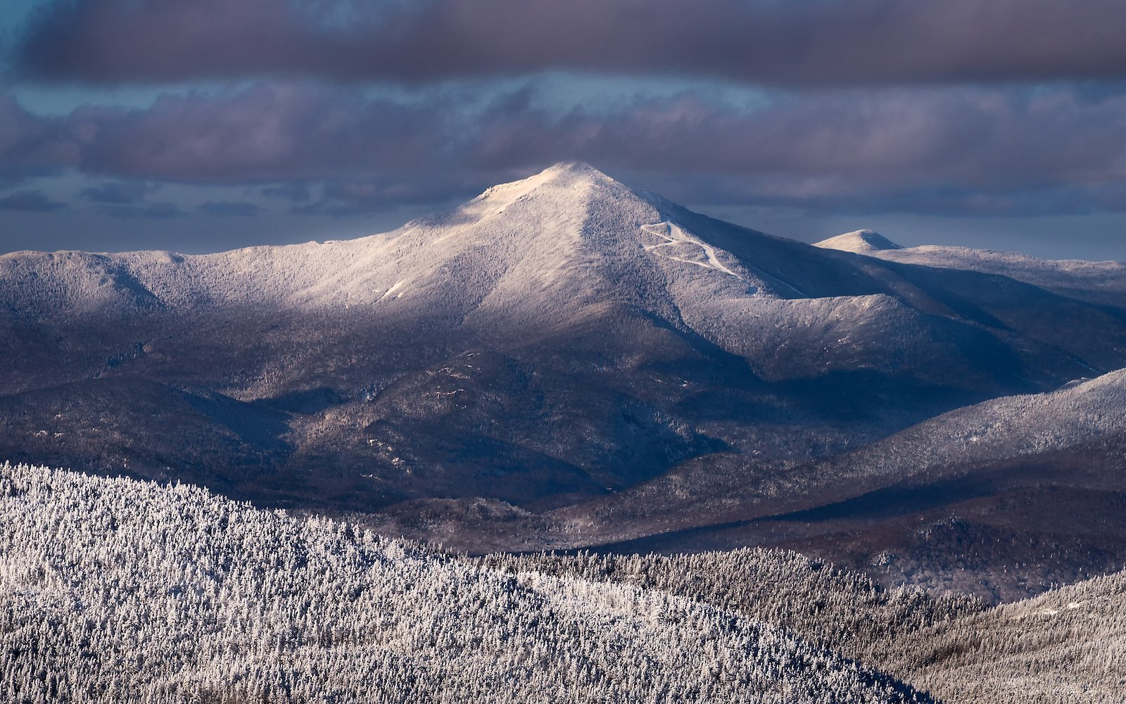 Behind the Shot - Layers of Whiteface | Pure Adirondacks