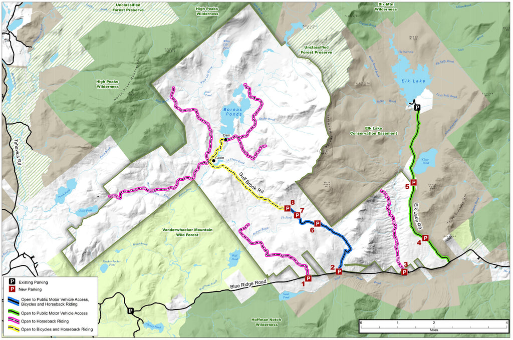 Boreas Ponds Tract Map