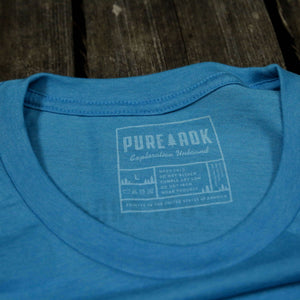 6 Million Acre Playground T-Shirt (Aqua) - Pure Adirondacks