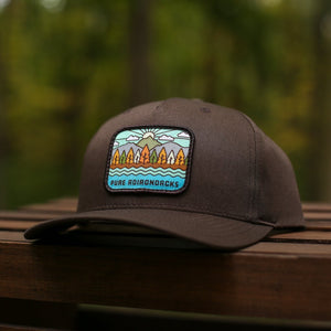 Autumn Vista Snapback | Brown