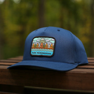 Autumn Vista Snapback | Light Navy