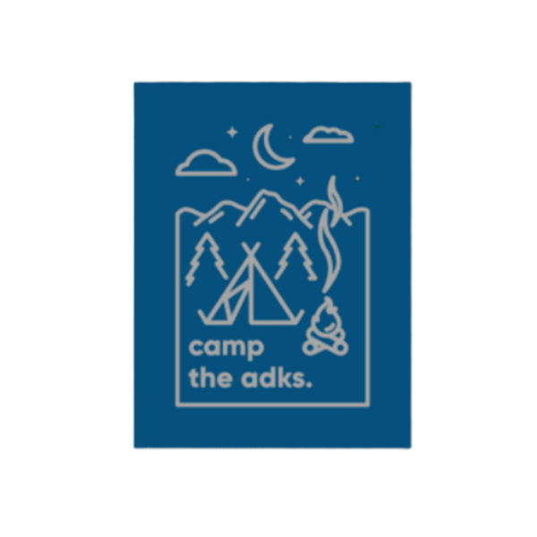 camps the adks. Sticker - Pure Adirondacks