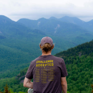 Adirondack Fire Towers | Short Sleeve (Heather Brown)