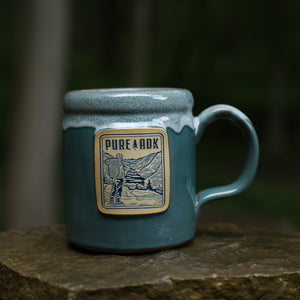 Viewpoint Mug | Light Teal/Rose/White