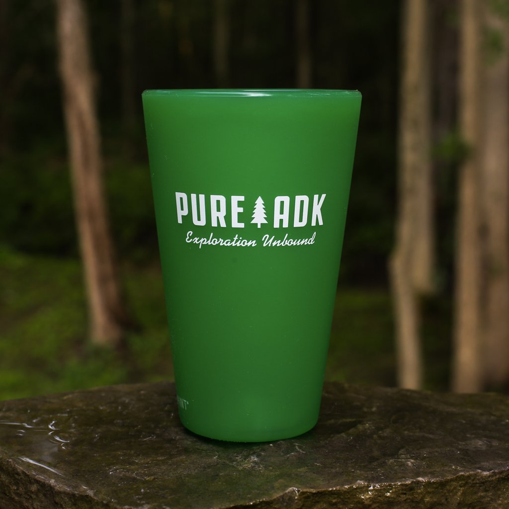 camp the adks. Silipint Cup - Everlasting Green - Pure Adirondacks
