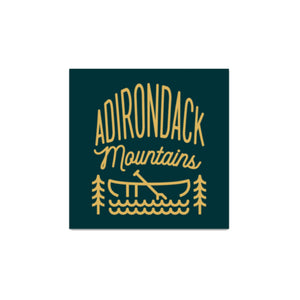 ADK Mtns Sticker - Pure Adirondacks