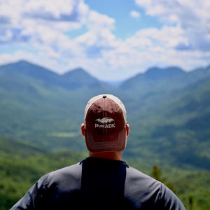 PureADK Basic Logo Hat | Burgundy - Pure Adirondacks