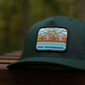 Autumn Vista Snapback | Deep Spruce