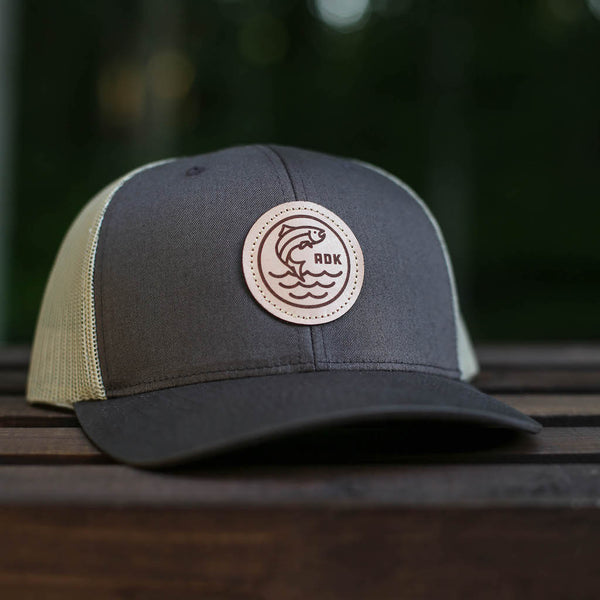 FishADK Hat | Brown - Pure Adirondacks