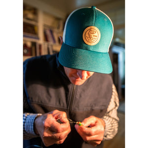 FishADK Hat | Teal - Pure Adirondacks