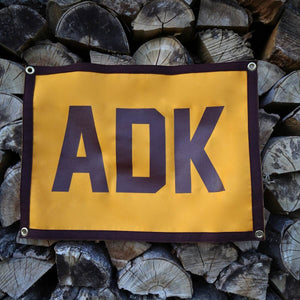 ADK Camp Flag - Pure Adirondacks