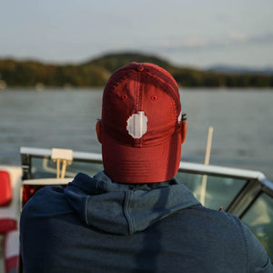 Park Boundary Hat | Burgundy - Pure Adirondacks