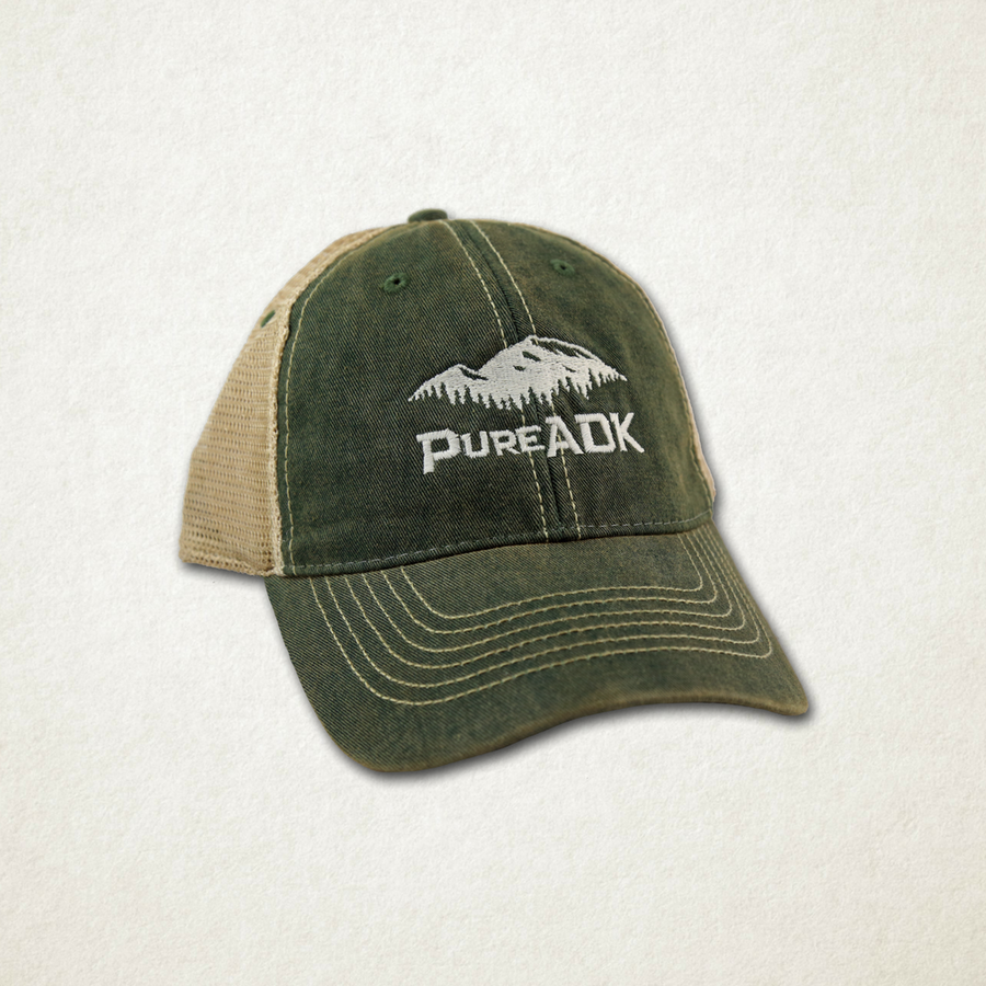 PureADK Basic Logo Hat | Green - Pure Adirondacks
