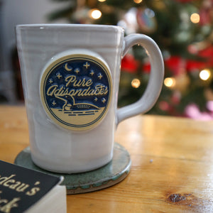 Lakeside Mug | Gloss w/ Blue Fill (12oz) - Pure Adirondacks