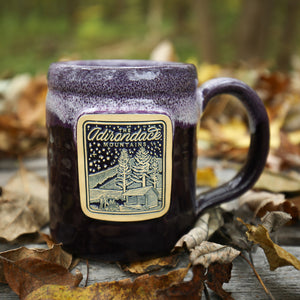 Fireside Mug | Plum w/ Lilac-White - Pure Adirondacks