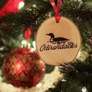 Lakeside Ornament - Pure Adirondacks