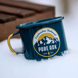 Base Camp Enamel Mug | 16.9oz