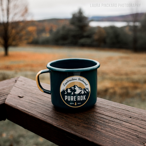 Base Camp Enamel Mug | 16.9oz - Pure Adirondacks