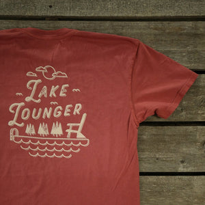 Lake Lounger Tee - Pure Adirondacks