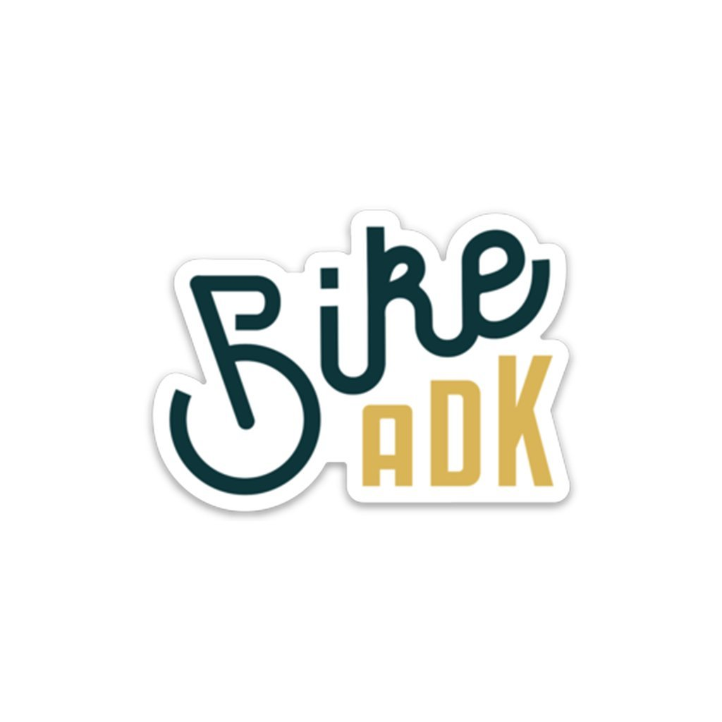 Bike ADK Sticker - Pure Adirondacks