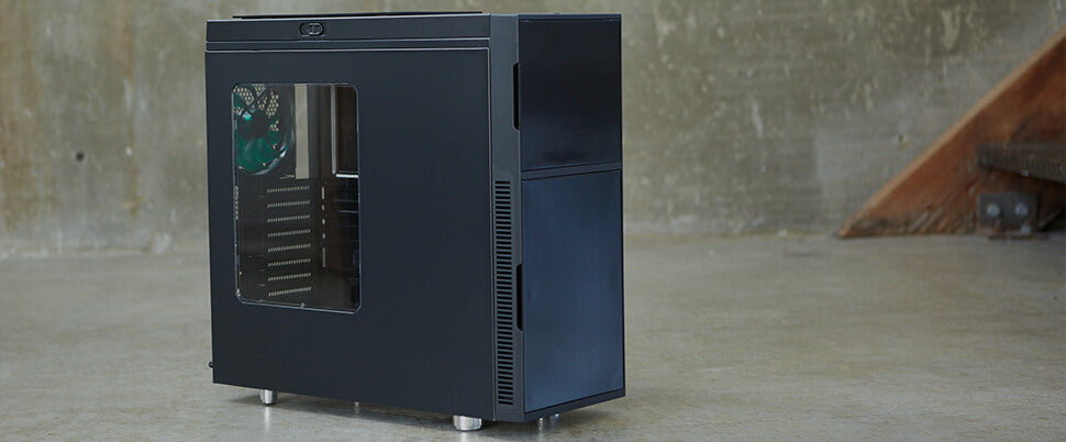 nanoxia deep silence 1 mid tower atx rev b pc case