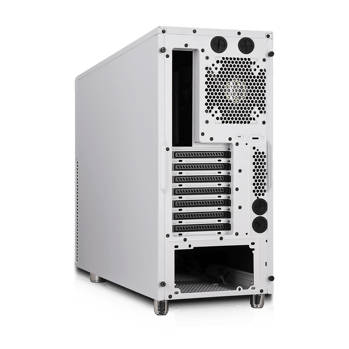 Deep Silence 2 Mid Tower Extended ATX Case Limited Edition, Championship White