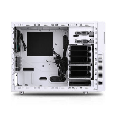 Deep Silence 4 Mini Tower Micro ATX Case Limited Edition - Championship White
