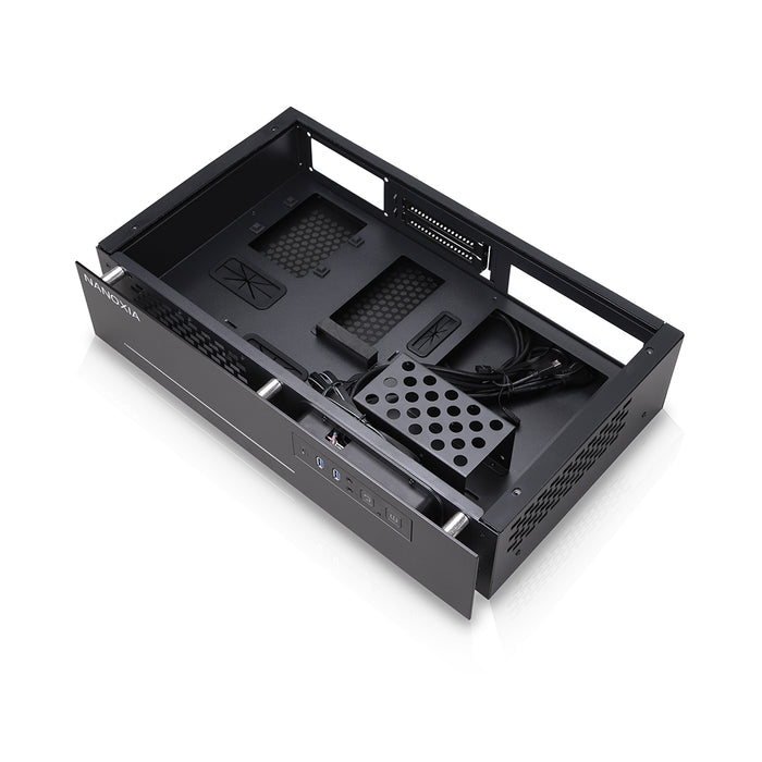 Nanoxia Mini ITX Case for SFF PC/HTPC/Desktop - Project S Mini Rev. B Limited Edition