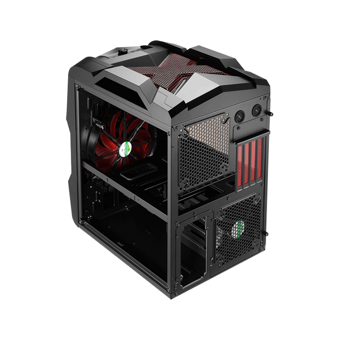 Rexgear 2 Micro ATX Case - Limited Edition, Midnight Garnet Red