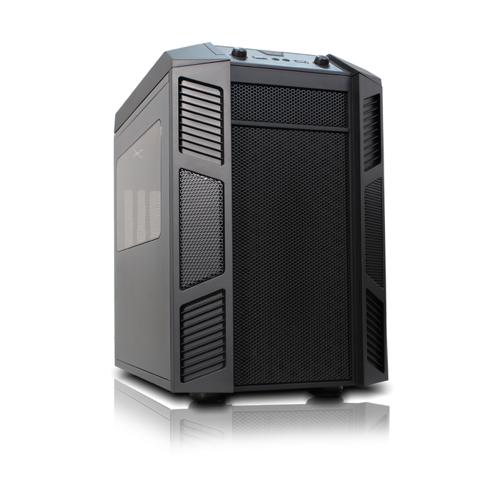 Rexgear 1 Micro ATX Case - Limited Edition, Onyx Black