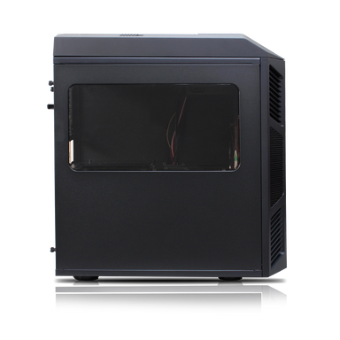 Rexgear Micro ATX Case - Limited Edition, Onyx Black-OEM Package