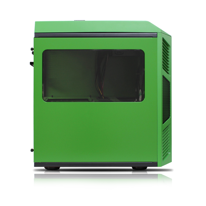 Rexgear 1 Micro ATX Case - Limited Edition, Green Hulk