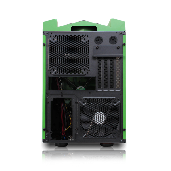 Rexgear Micro ATX Case - Limited Edition, Green Hulk-OEM Package