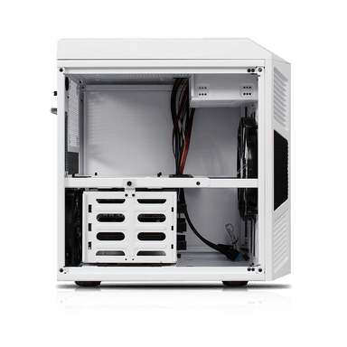Rexgear Micro ATX Case - Limited Edition, Championship White-OEM Package