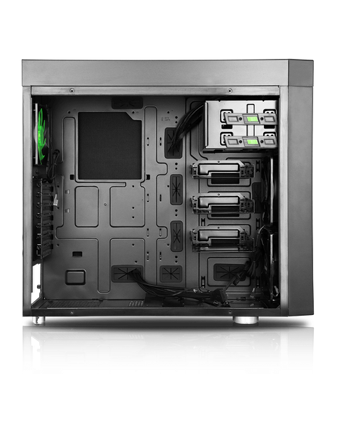PC Cases - CoolForce 1 Tempered Glass Mid Tower Case