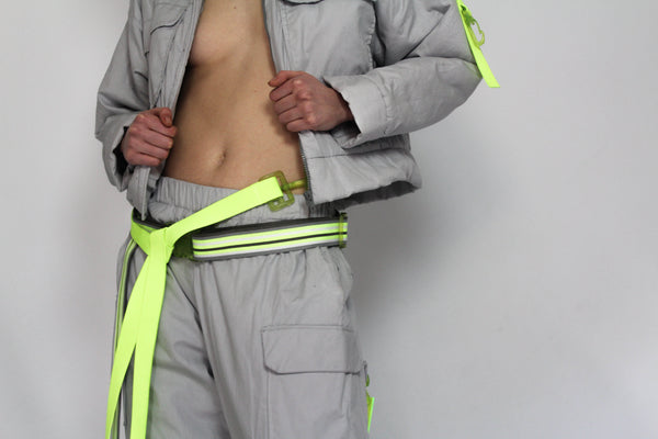 JENNESKENS off-ski grey/neon jacket // trousers
