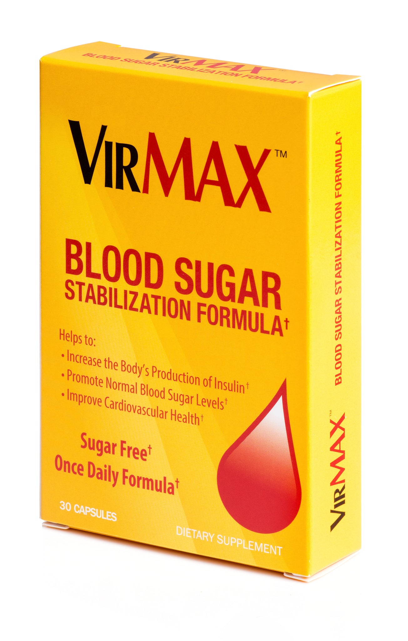 VirMAX Blood Sugar Stabilization Formula Tablets, 30 Count